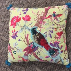 Karma Living Boho Bird Pillow